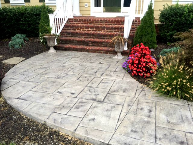 maintaining stamped concrete
