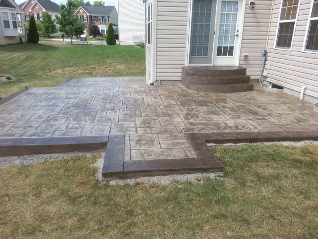 stamped concrete patio with stairs. Plain Patio IMG_0754 IMG_0752 IMG_0755 For Stamped Concrete Patio With Stairs