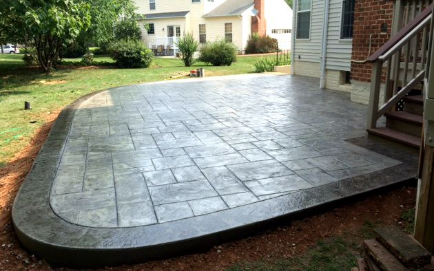 Stamped Concrete Patio Blackwater Concrete Gore Va
