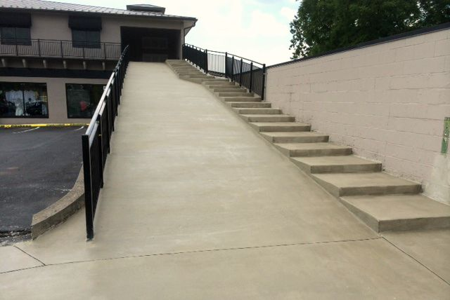 Concrete Steps and Ramps