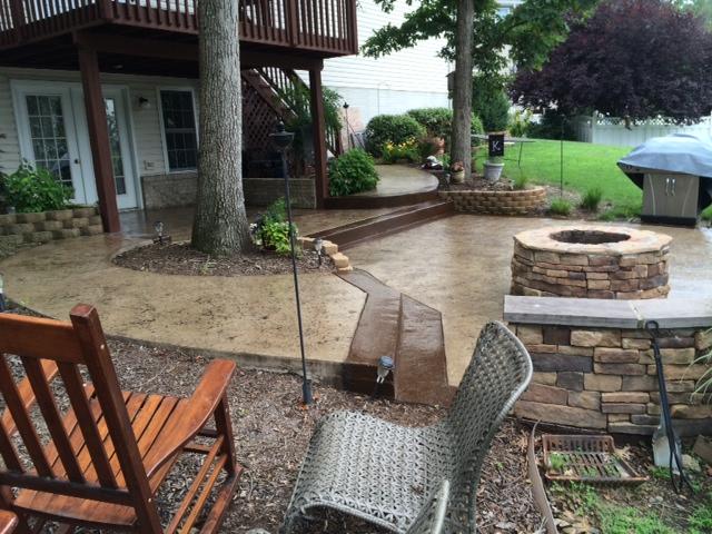 Patio Maintenance | Blackwater Concrete | Winchester, VA