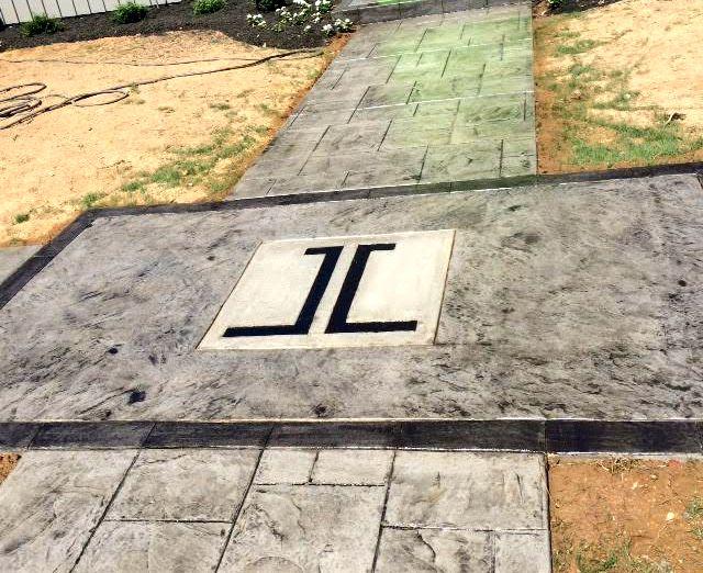Custom Sidewalk Entrance