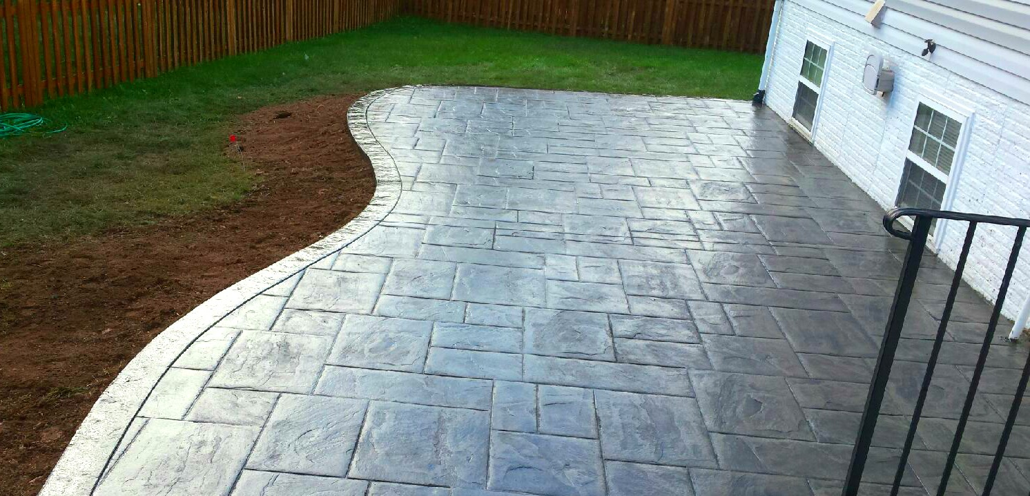 Curved Concrete Patio | Blackwater Concrete on Curved Patio Ideas id=82896