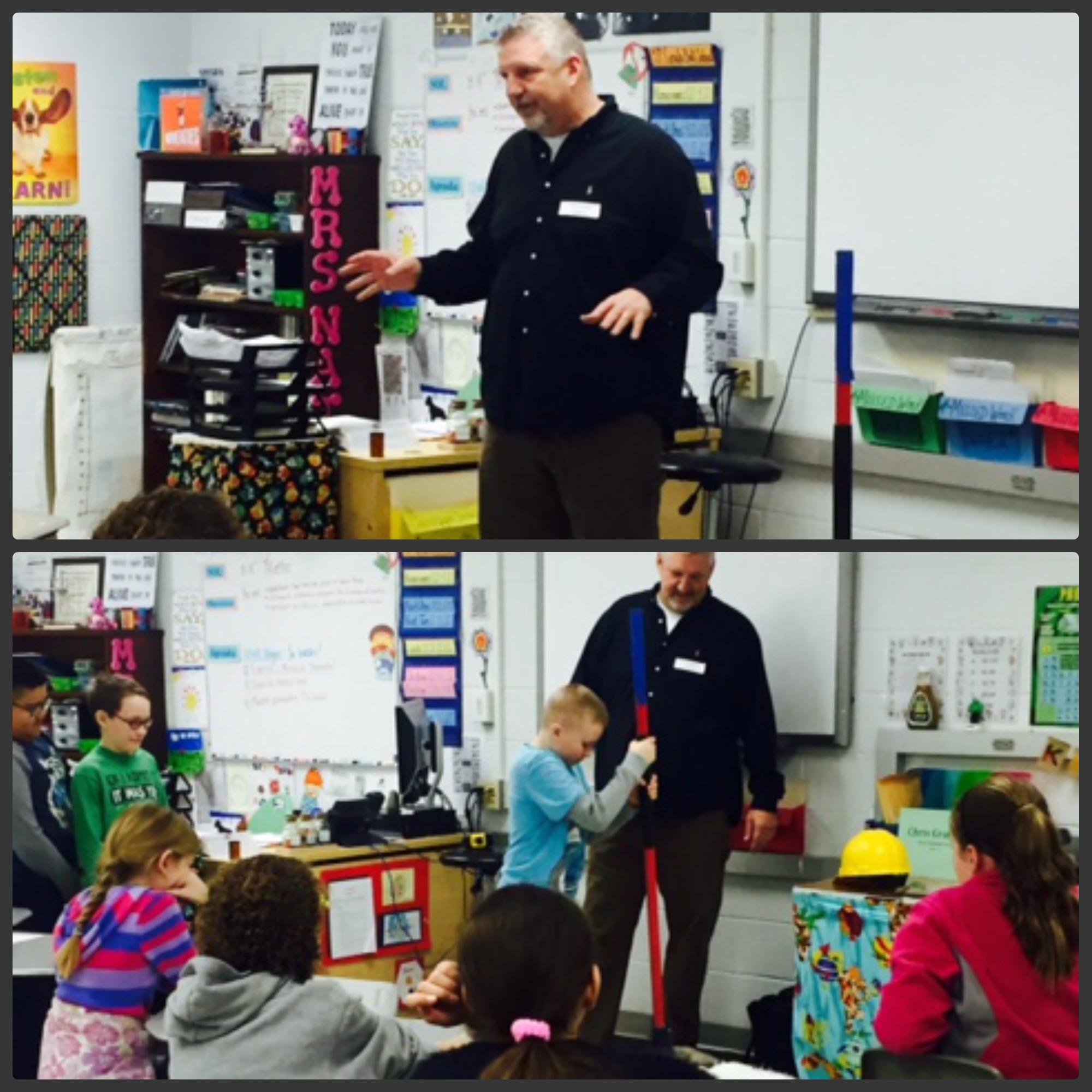 Career Day at Daniel Morgan Middle School