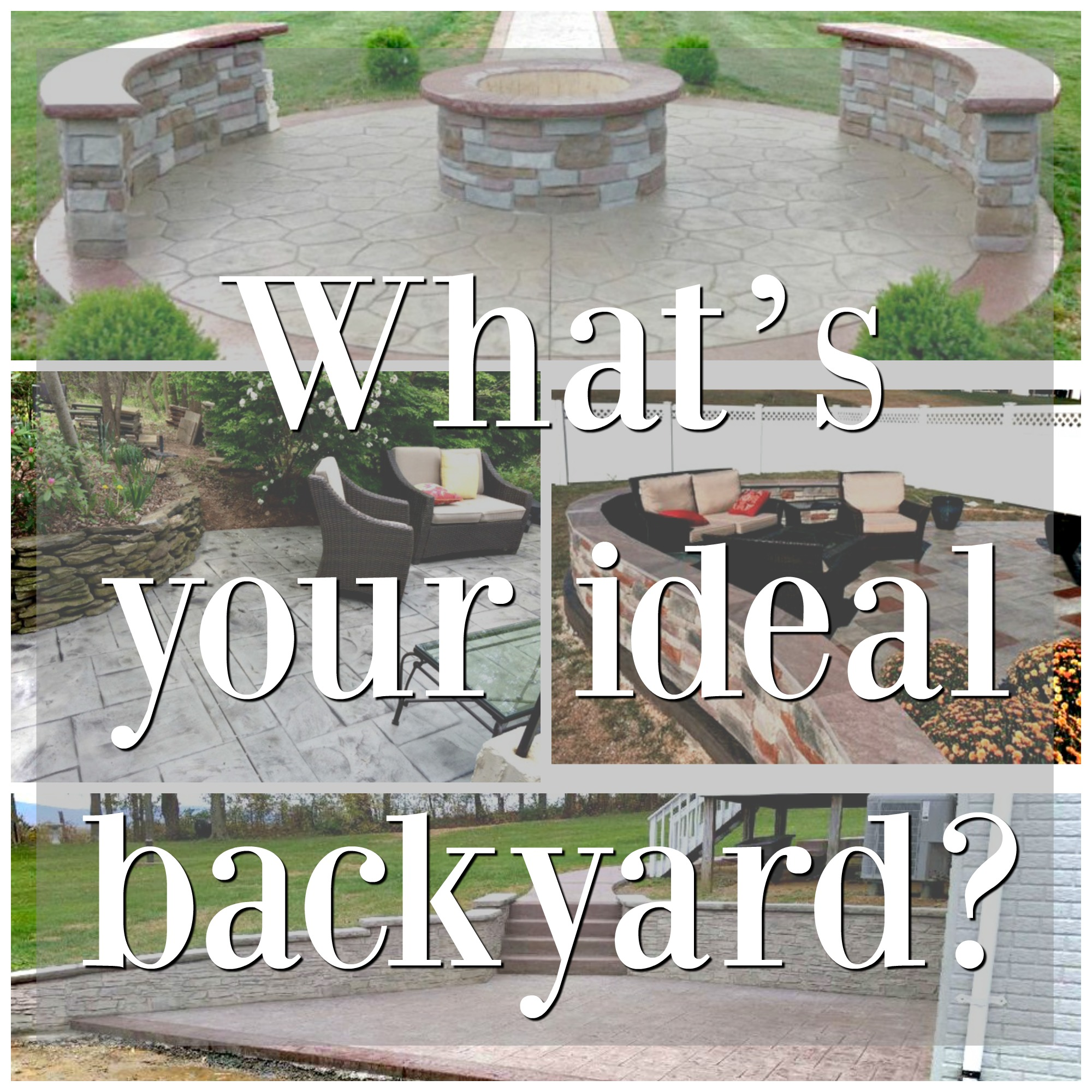 3 simple reasons why you need a decorative concrete patio