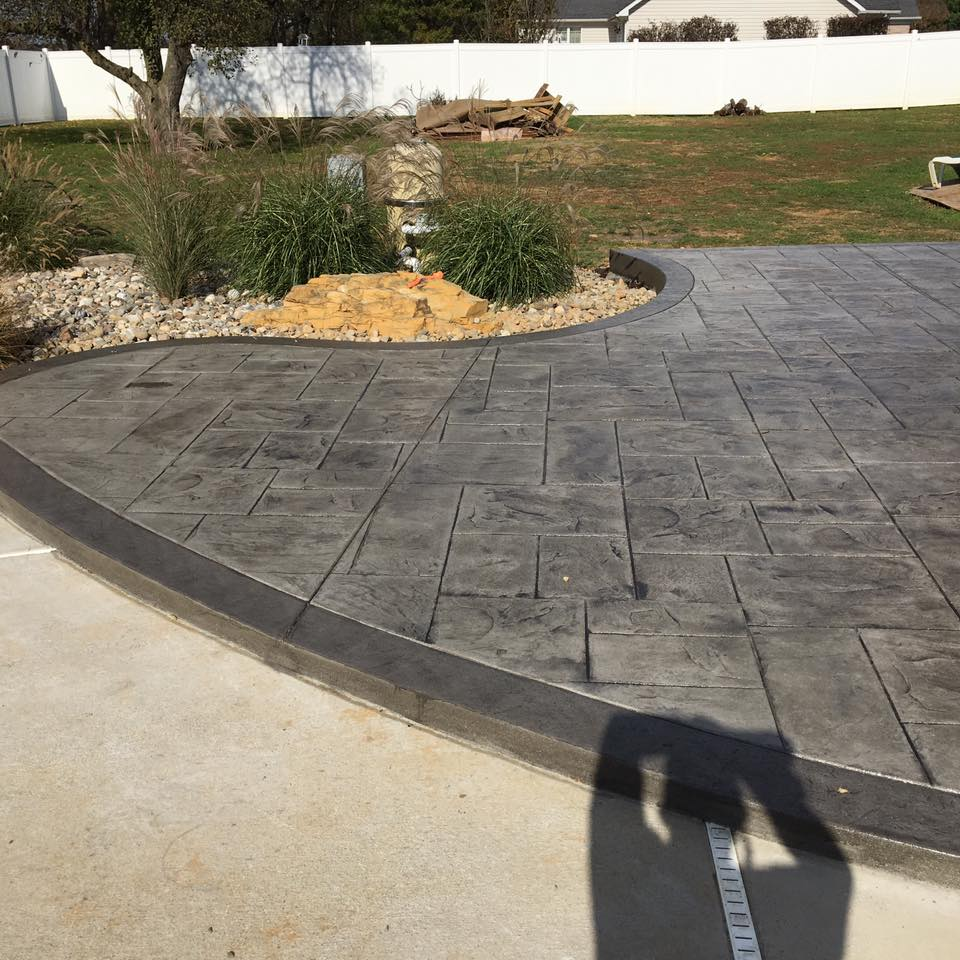 Outdoor Living Areas Blackwater Concrete